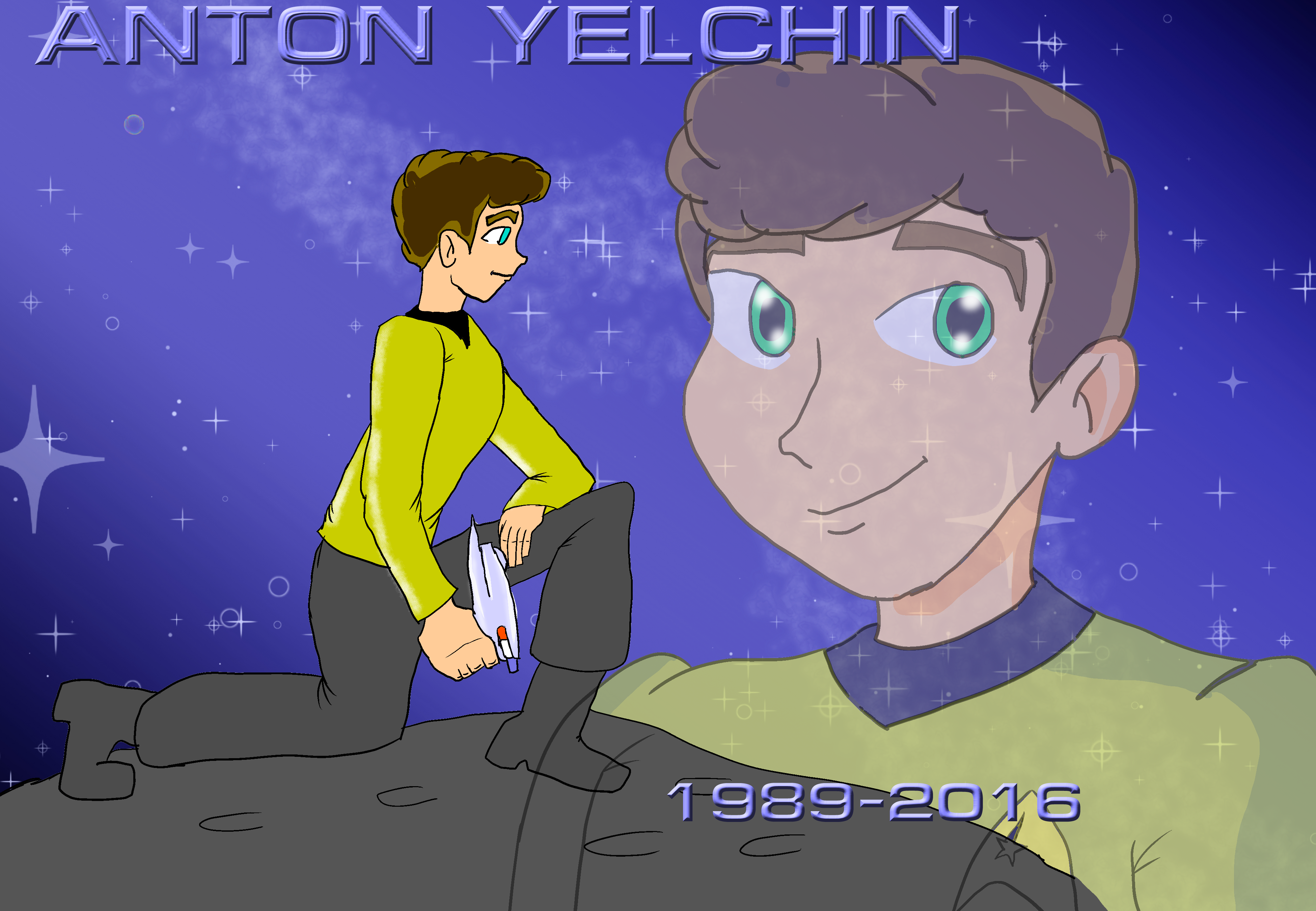 My Tribute to Anton Yelchin by KiteBoy1