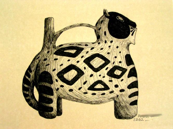 Aztec Pot Study by Kittyku1189