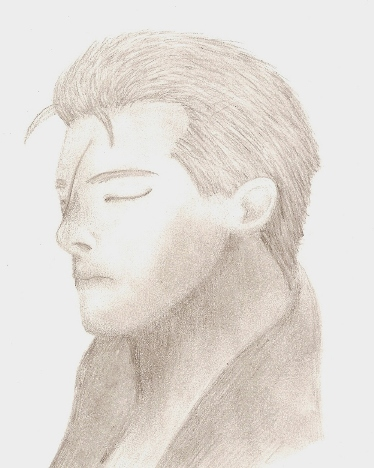 Seifer Almasy Pencil Drawing by Kittyku1189