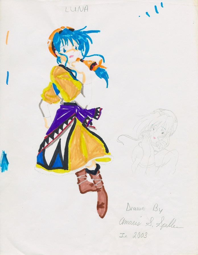 Frighten Girl - Luna by KiwiKiss
