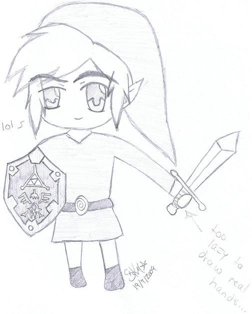 chibi!Link by Kocho