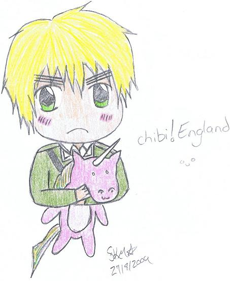 chibi!England :Request for Chickibo: by Kocho