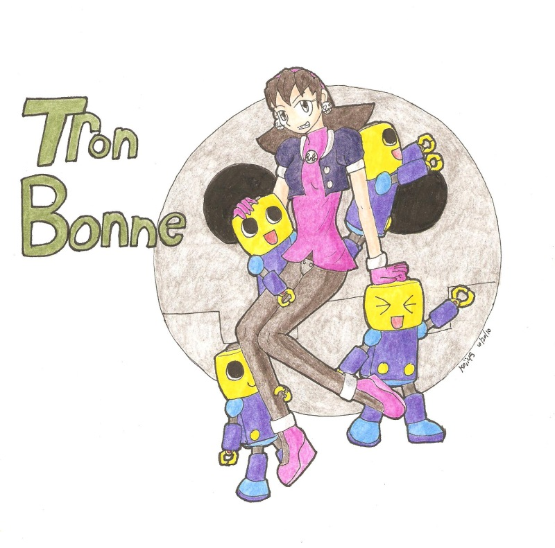 Tron Bonne and Servbots by Koji45
