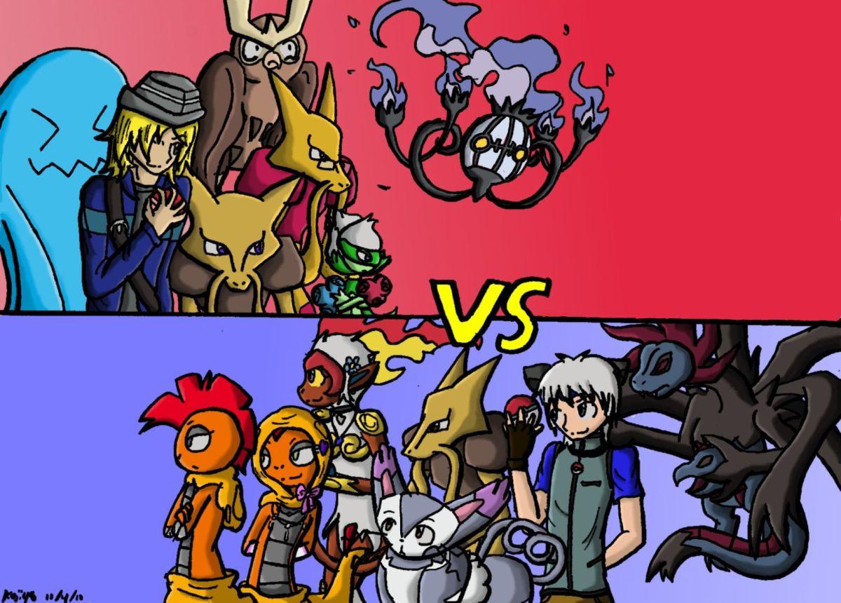 Pokemon Battle by Koji45