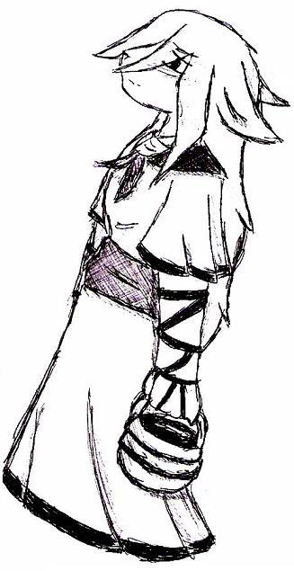 Malon Furry pen doodle by Kokolo