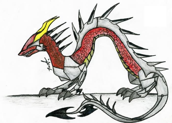 TechNo Dragon by KratzFnimrod