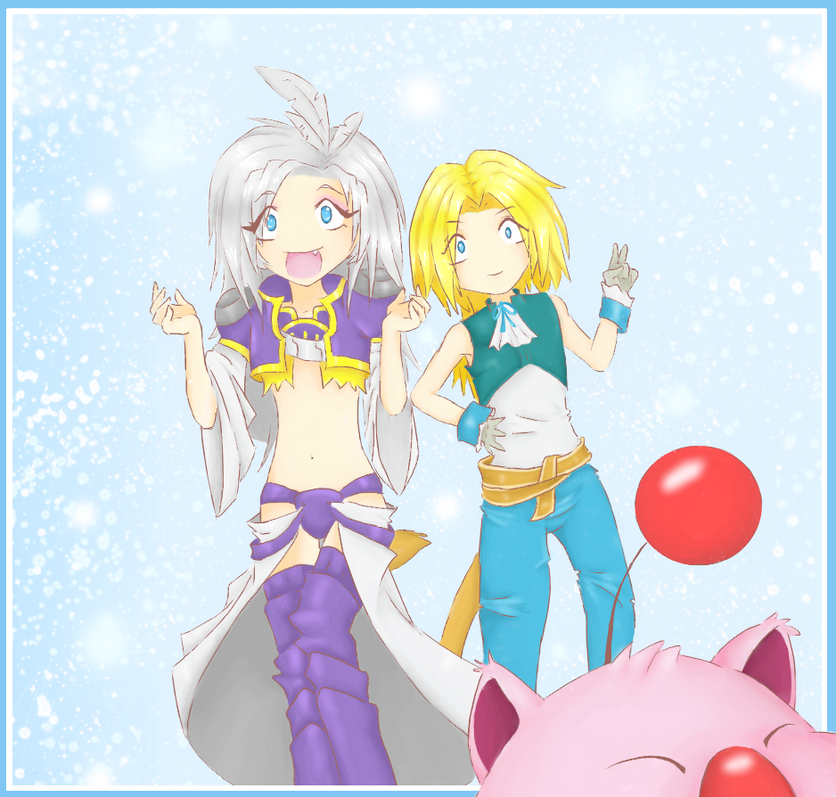 Kuja and Zidane Photobombed by Kujachanxoxo