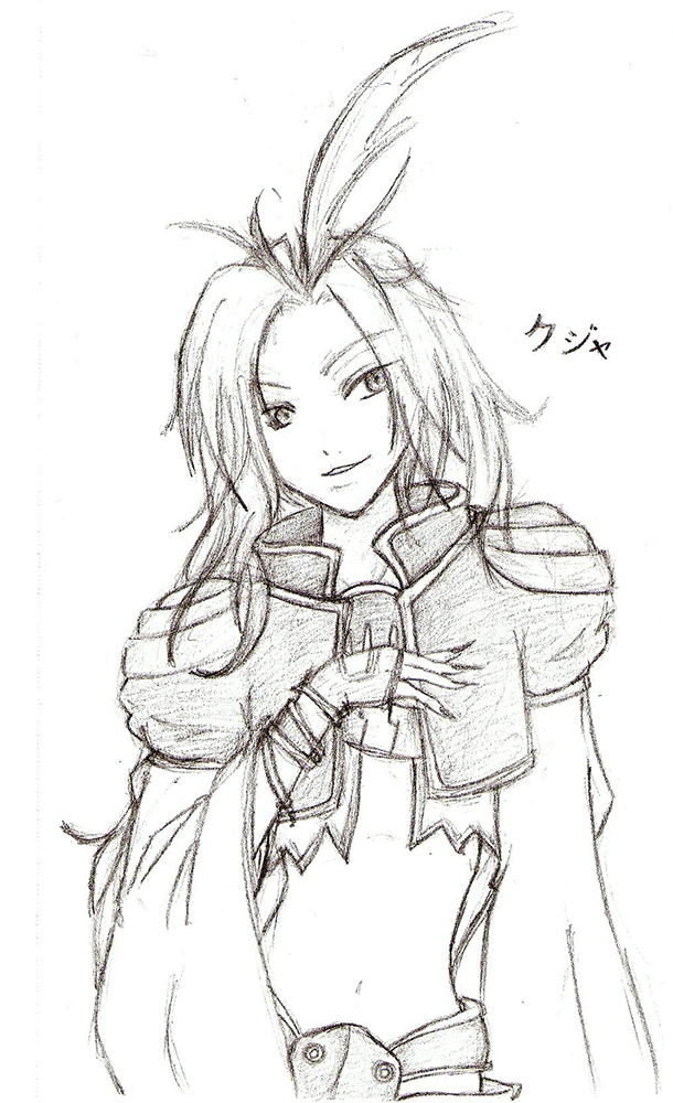 Pencil Kuja by Kujachanxoxo