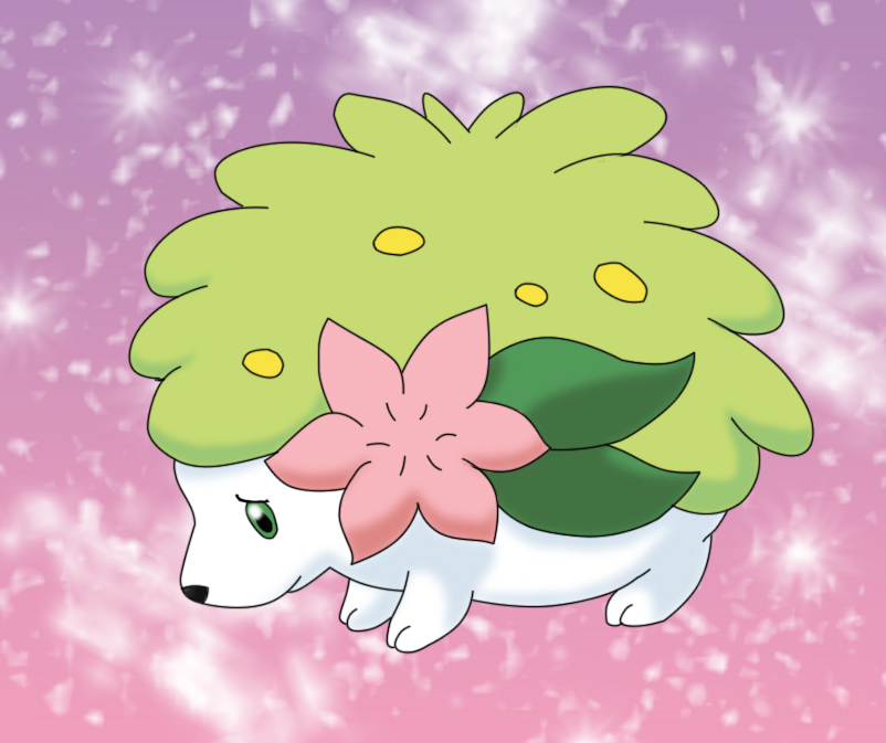 Shaymin the princess by KumireBunny