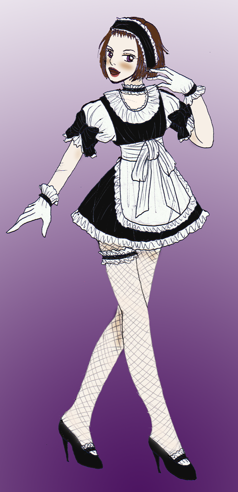 Maid Wonka by Kurama_Lover_Otaku_Bunny