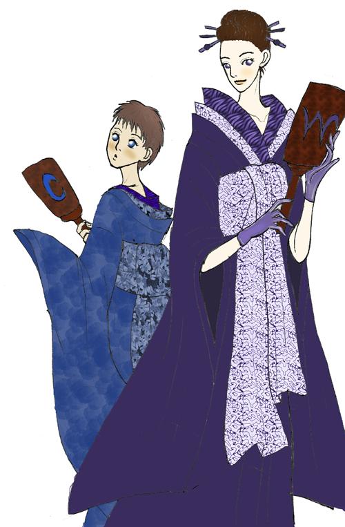 Kimonos by Kurama_Lover_Otaku_Bunny
