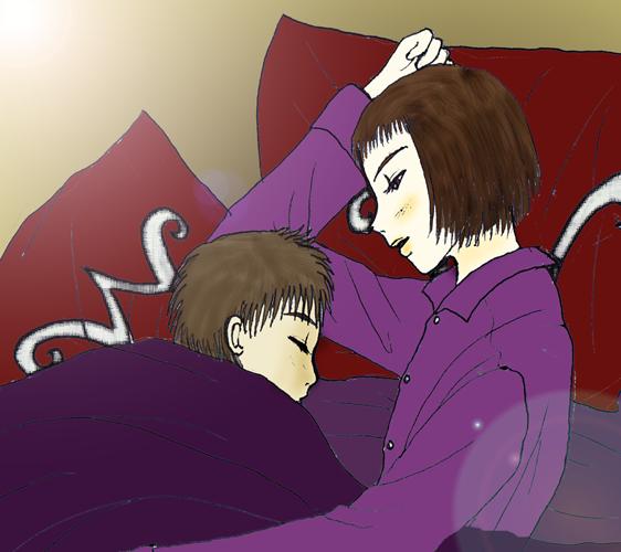 Wonka Charlie Sleeping by Kurama_Lover_Otaku_Bunny