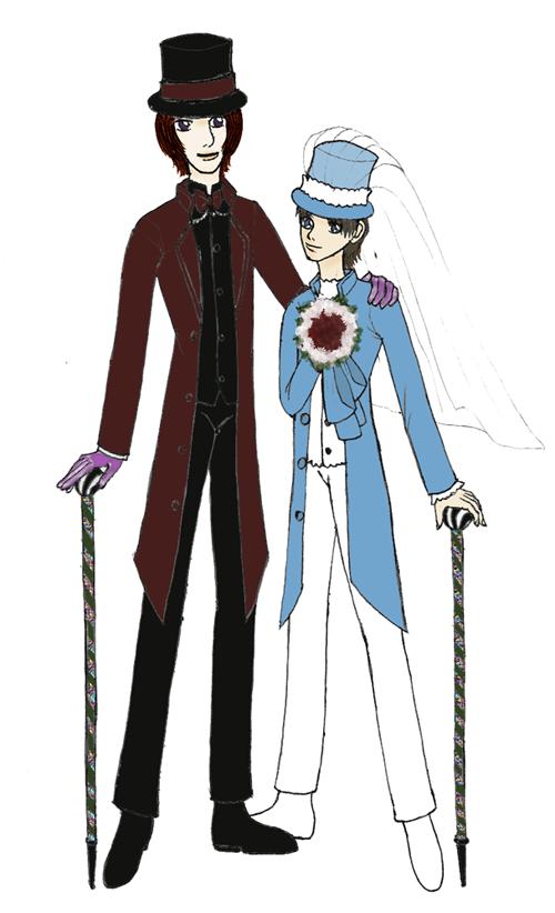 Two - Wedding Version by Kurama_Lover_Otaku_Bunny