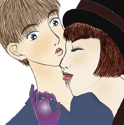 WonkaXOlderCharlie by Kurama_Lover_Otaku_Bunny