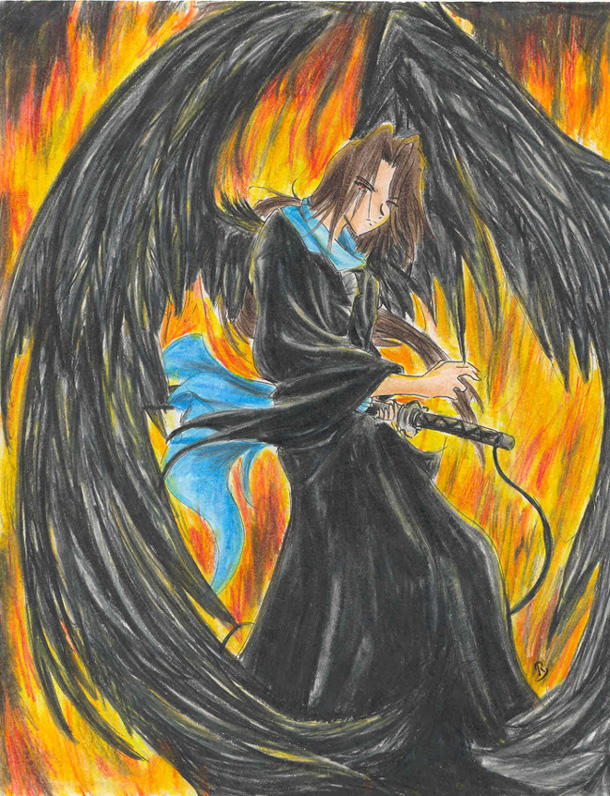 Fire Of A Fallen Angel by Kuroko
