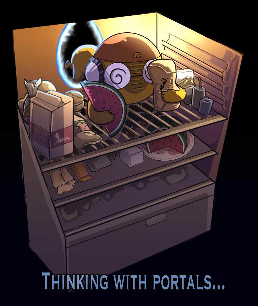 Thinking With Portals by Kururu