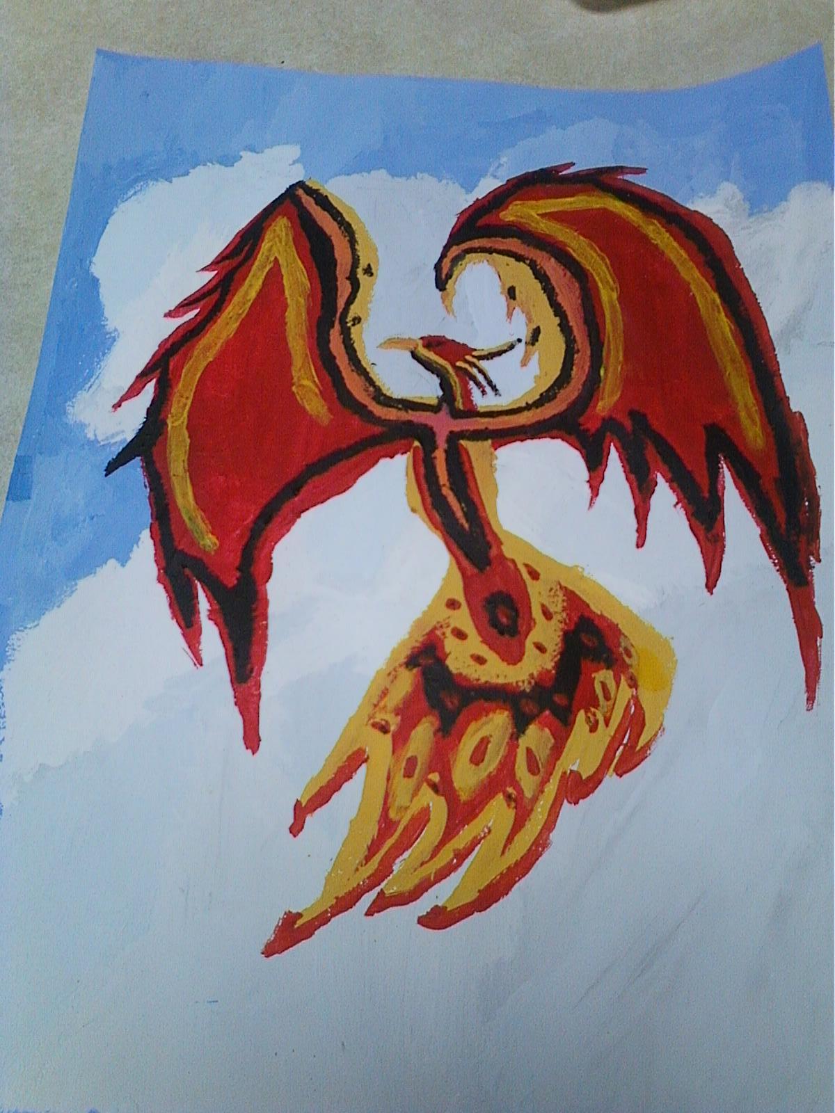 Phoenix by KyiNekoYasha