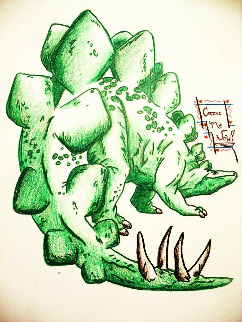 Stegosaurus by Kysten