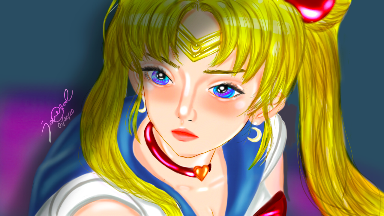 Sailor Moon by KyxMillia