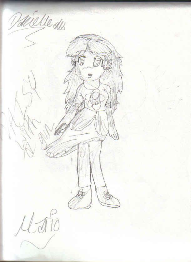 daisy with a gun! by kagomeinuyasha123