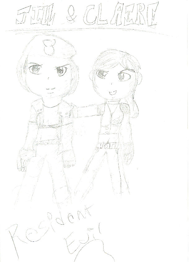 jill and claire! by kagomeinuyasha123