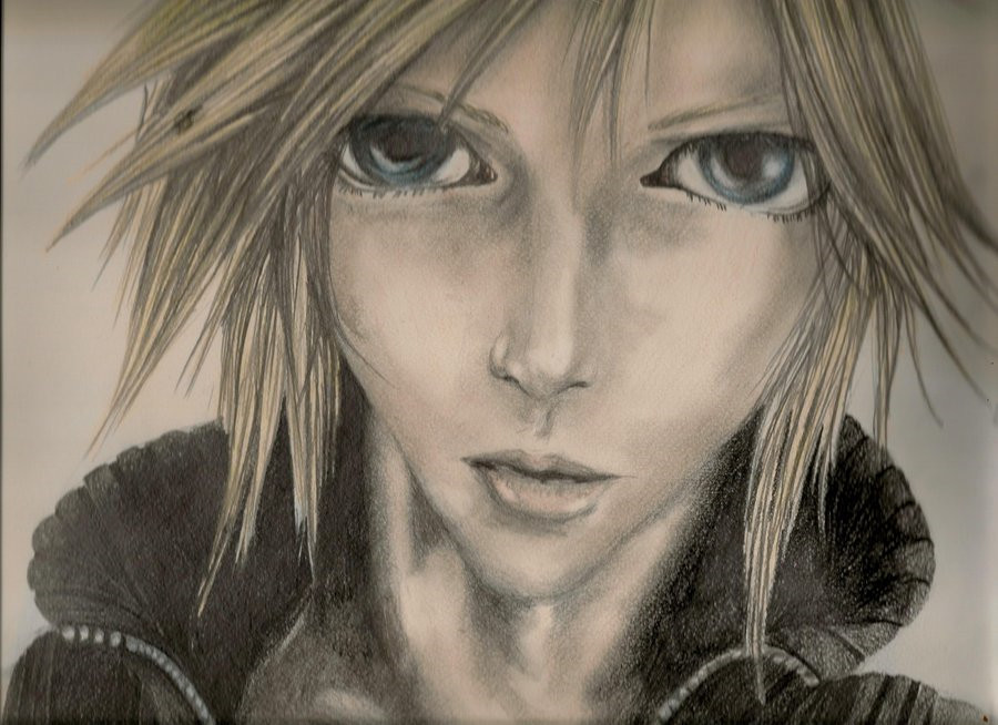 Cloud Strife by kaieshakai