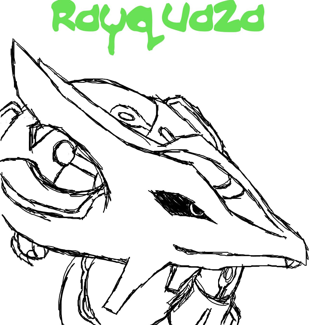 Rayquaza by kamoku_hito