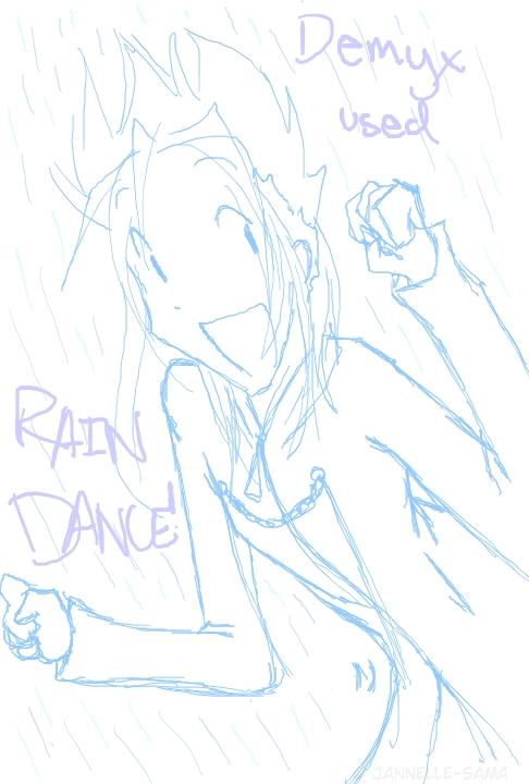 Demyx Rain Dance by kamoku_hito