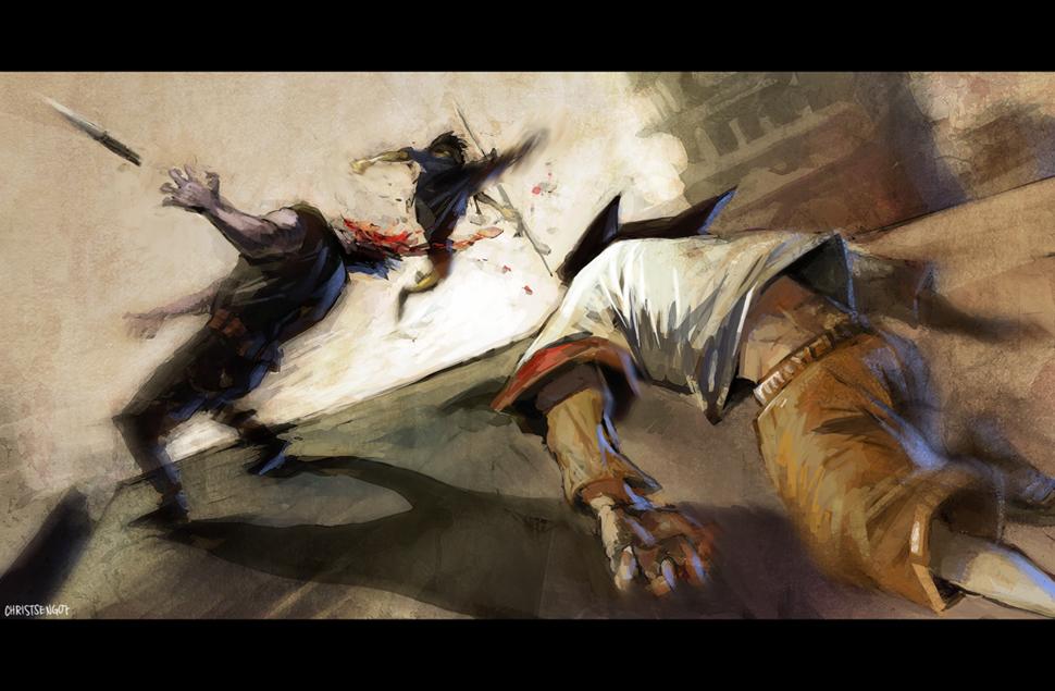 Tekkon Kinkreet- Fight by kaori