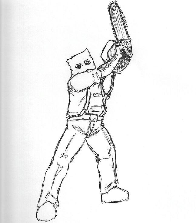 Chainsaw Ganado by karasuhybrid