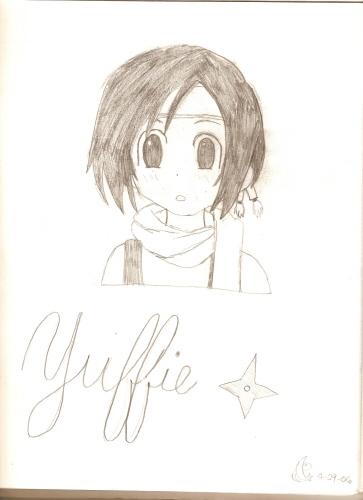 Yuffie by katara719