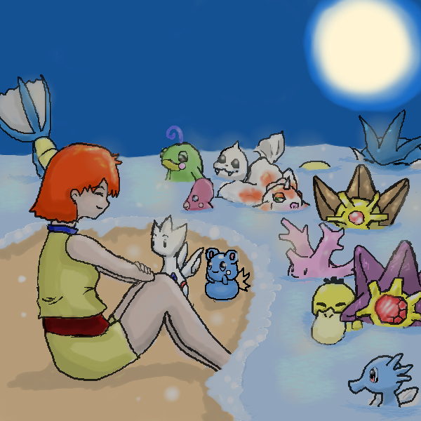 Misty and her friends by katara719
