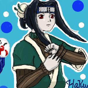 Haku the Bubblemanshe by katara719