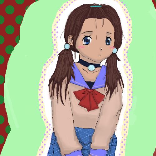 Katara~Schoolgirl by katara719