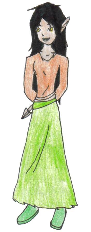 Mai Tallock ( amys mother) OC by kath
