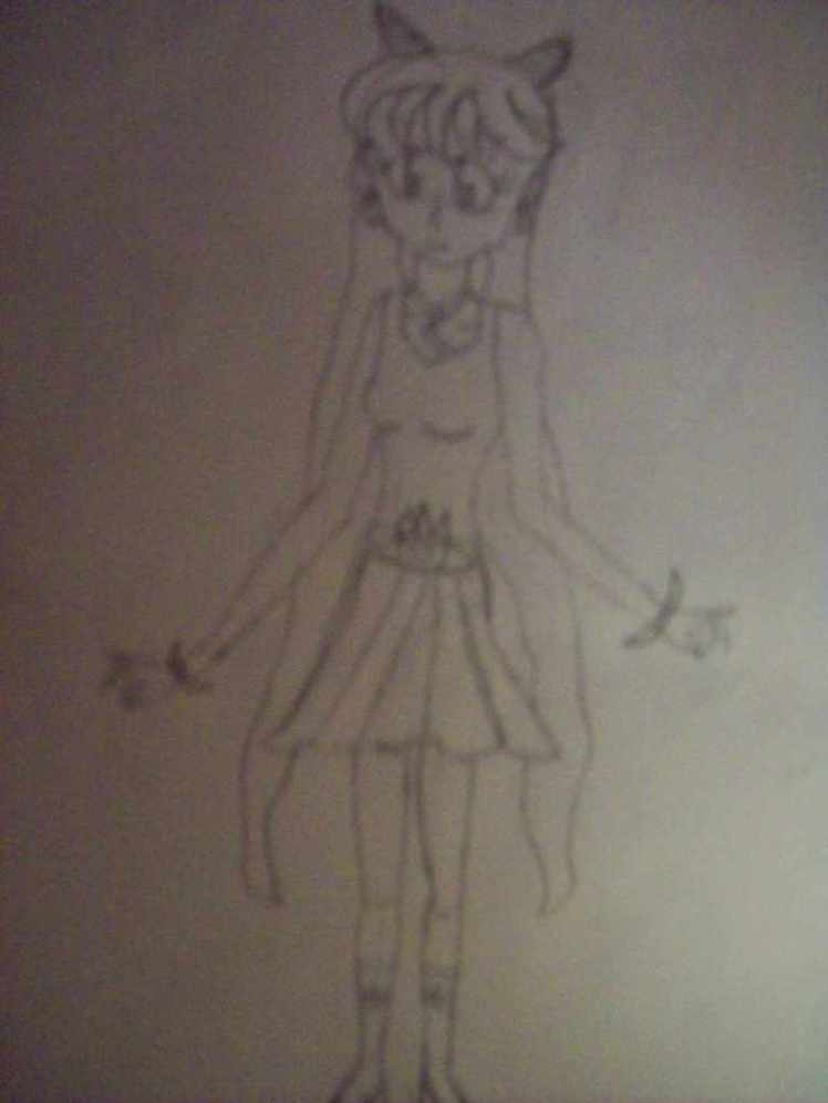 my sailor moon oc Cheiko Kahona by katieXatem