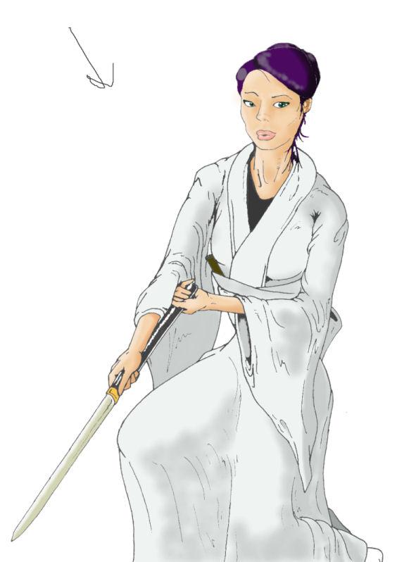 O-Ren Ishii by kc1980