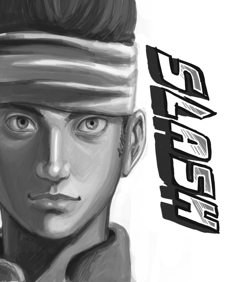 Slash Kamei by kevinsano