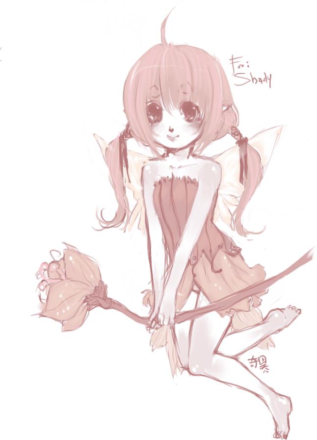 pink fairy by kiitaro