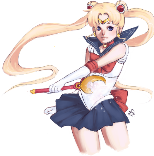 sailor moon by kiitaro