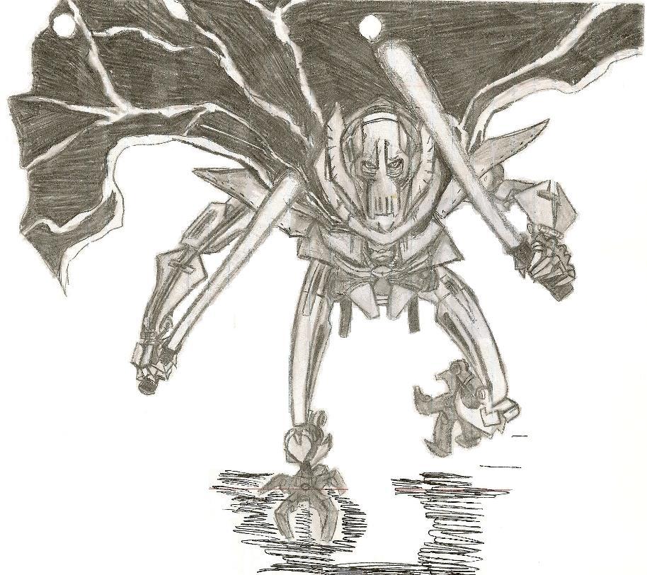 Grievous Attacks by killerrabbit05