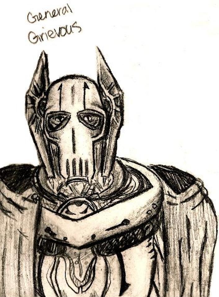 Grievous Looks On by killerrabbit05