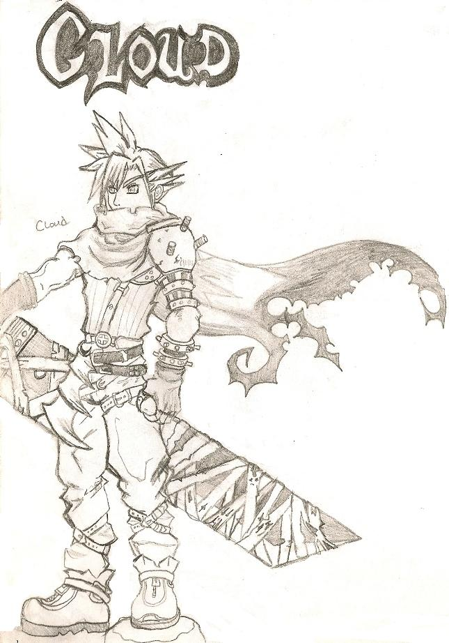 Cloud-KH Style reference sketch by killerrabbit05