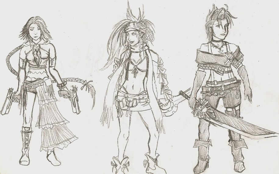 YRP reference sketches by killerrabbit05