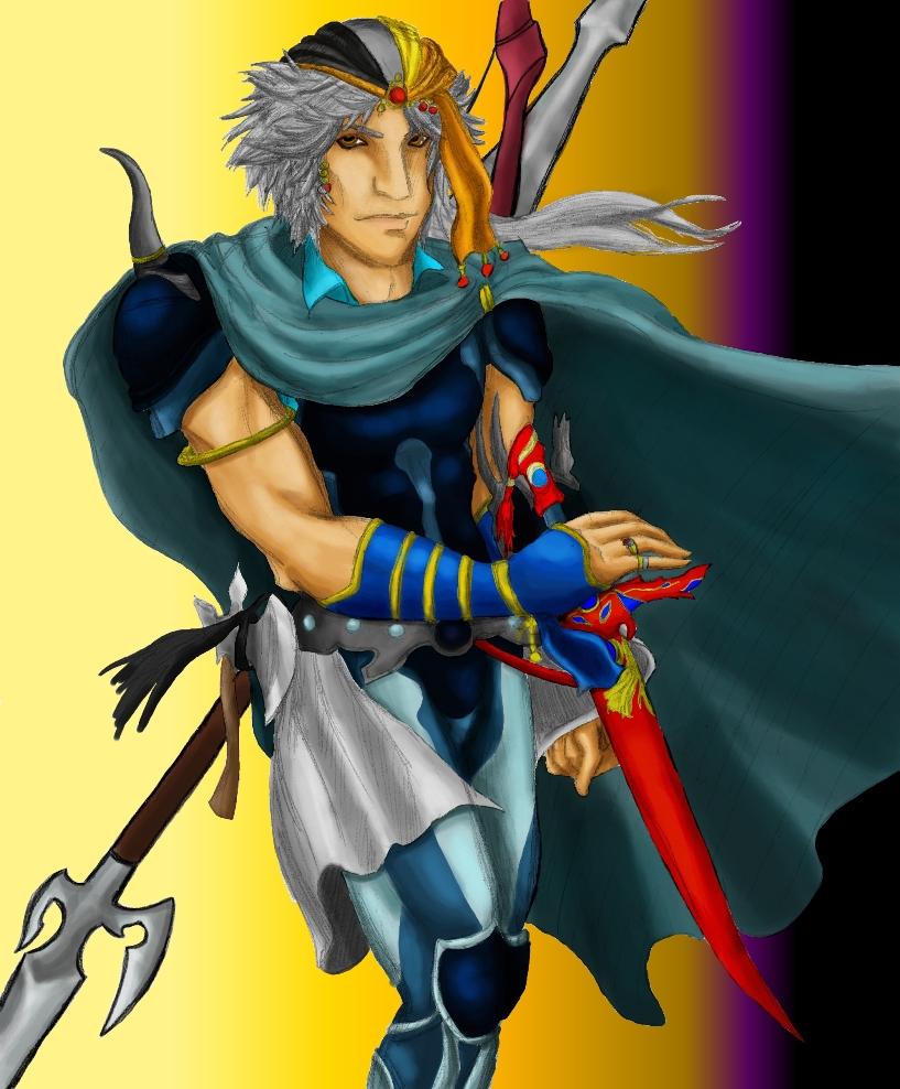 Firion, Warrior of the Wild Rose by killerrabbit05