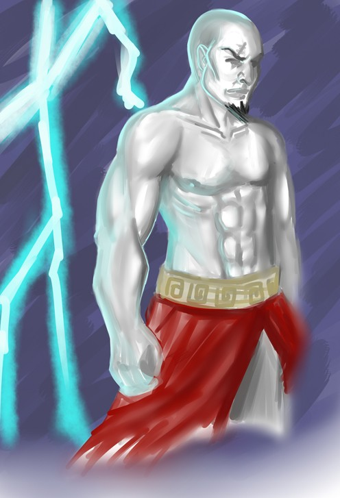 KRATOS -rough- by killerrabbit05