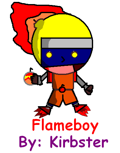 Flameboy [Ali32s contest] by kirbster