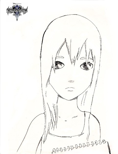 Namine [Inking] by kissmekillme