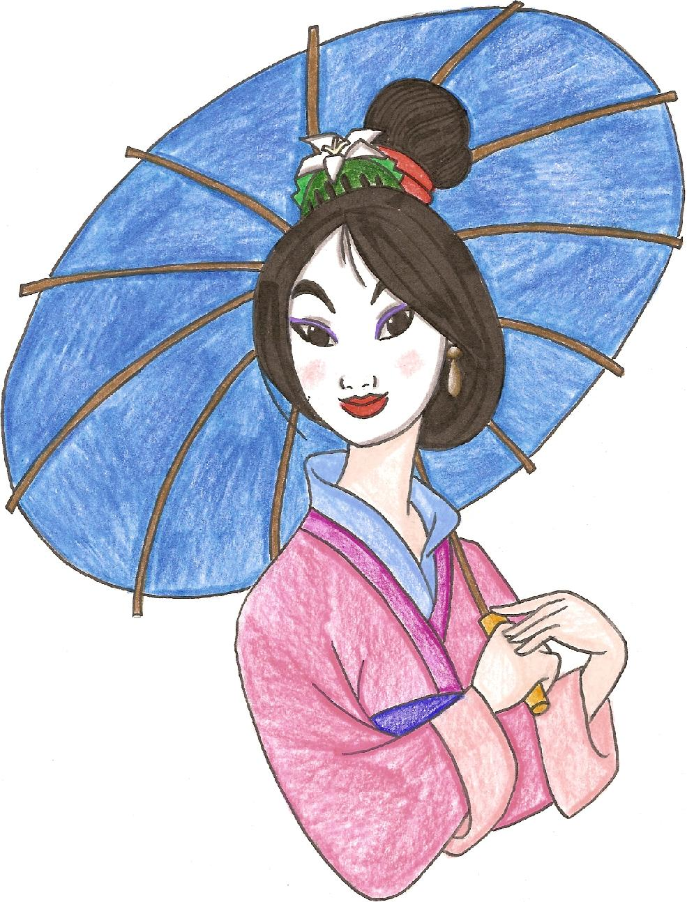 Pretty Mulan by kittysan5
