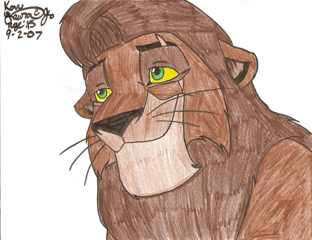 Adult Kovu by kittysan5